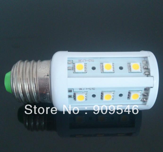 New Design product 5W 5050 SMD 24LED Corn Bulb Light E27 LED Lamp 220V-240V Free Shipping DHL 20pcs/lot(China (Mainland))