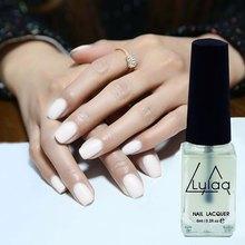 Fashional Long Lasting Pearlescent Paint Top Coat Polish White(China (Mainland))