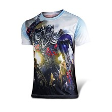 Compression superman batman hulk gym fitness men t-shirts 3d printing men t shirt high quality punisher men t shirts