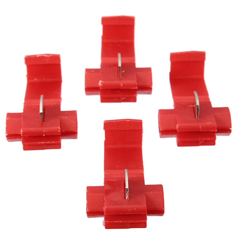 Durable Safety Insulator Tap 20pcs Red Scotch Lock Quick Splice 16-22awg Wire Connectors Terminals Crimp Electrical Tool(China (Mainland))