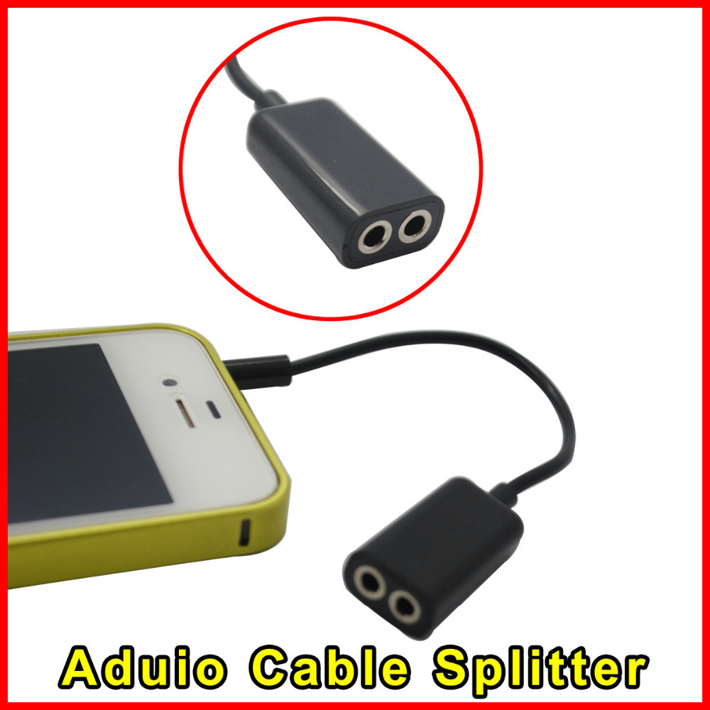 Jack 3.5 mm Dual 3.5mm Cable male Female Audio cables Splitter adapter cabo kabel Plug Stereo speaker earphone headphone - Shenzhen Sinava Technology Co., Limited store