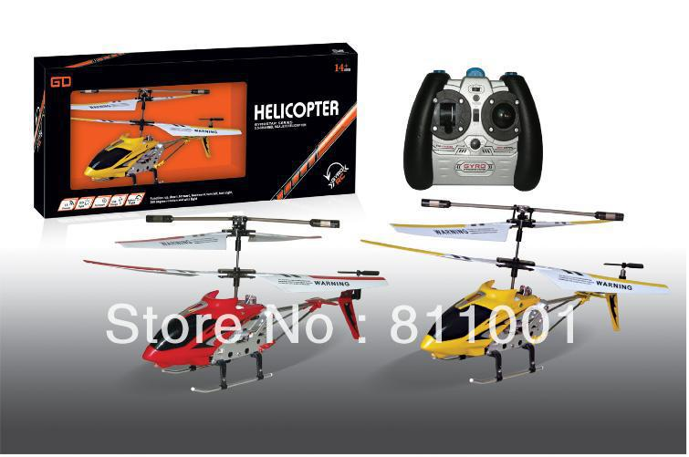 up to 20 off Metal edition 3.5channel with Gyro remote control RC Helicopter Toys Gift as S107 Good performance(China (Mainland))