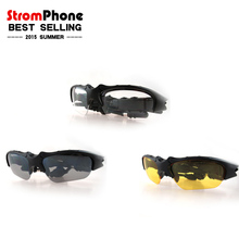 2015 Wireless Bluetooth Sunglasses Headset Music Phone Call Hands free Sunglasses Headset For all Smart Phone PC Tablet