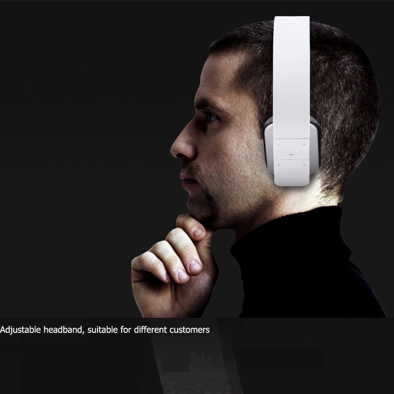 Newest Noise Reduction Bluetooth Headphones Headset with MIC for iPhone 5 5S for Ipad for Tablet PC(China (Mainland))