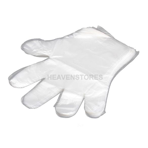 Free Shipping 100 Disposable PE Garden Home Restaurant BBQ Plastic Multifuction Gloves hv3n(China (Mainland))