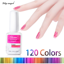 Buy 15ML/pcs 120 Colors UV Gel Nail Polish Long-Lasting 30days Soak-off Nail Polish Bling Manicure Thermo Gel Varnish Nail Glue for $3.64 in AliExpress store