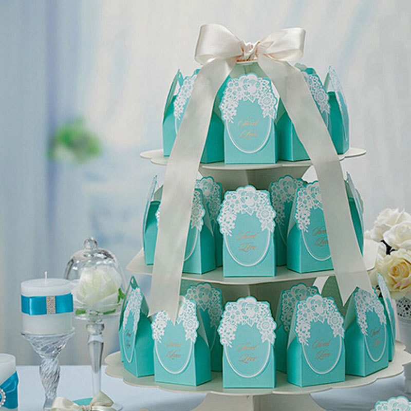 2015 New Romantic Wedding Decorations 50pcs Wedding Favors Candy Box Casamento Favors And Gifts Bags Sweet Party Favors Supplies(China (Mainland))