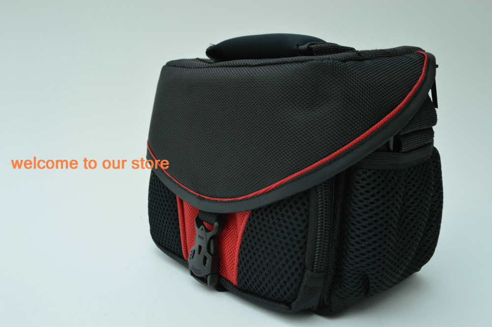 2015! 2013 New Waterproof soft camera bag Canon EOS 550D 650D 500D 50D SX30 SX40 sx50 7000D 60D M RED - Camera accessories shop store