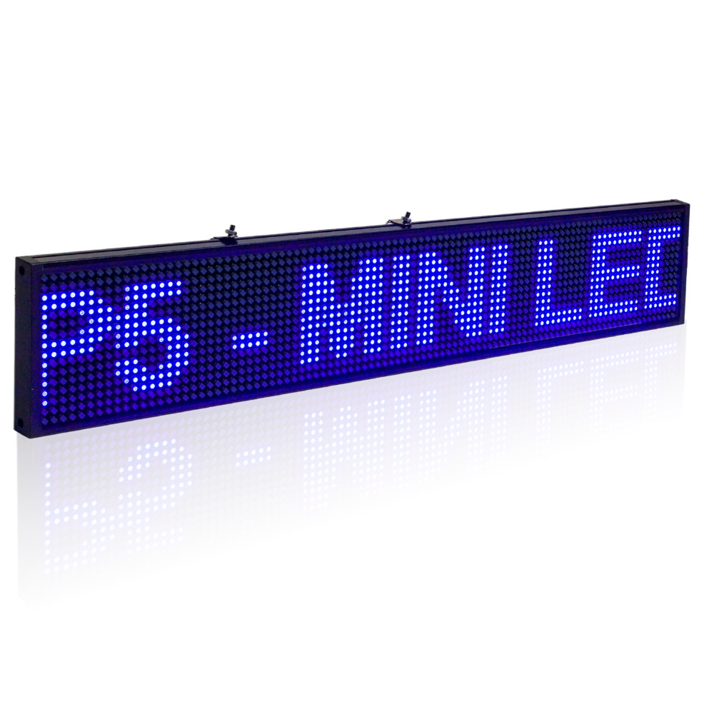 50cm P5 SMD Led Sign Android Phone WIFI Remote Control Programmable Scrolling information Message LED Advertising Display Board(China (Mainland))
