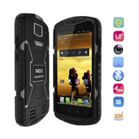 "Original No.1 X1 MTK6582 Quad Core 1GB 8GB 5.0"" HD 1280*720 Dual SIM 3G GPS 5MP 13MP Android 4.4 IP68 Waterproof Outdoor Phone"