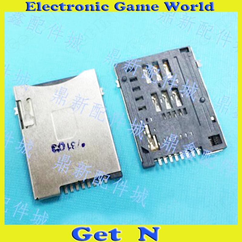 200pcs Original SUYIN SIM 8P Cards Slots Self Push with Column Phone 8-Pins SIM Jacks Push - Push Type(China (Mainland))