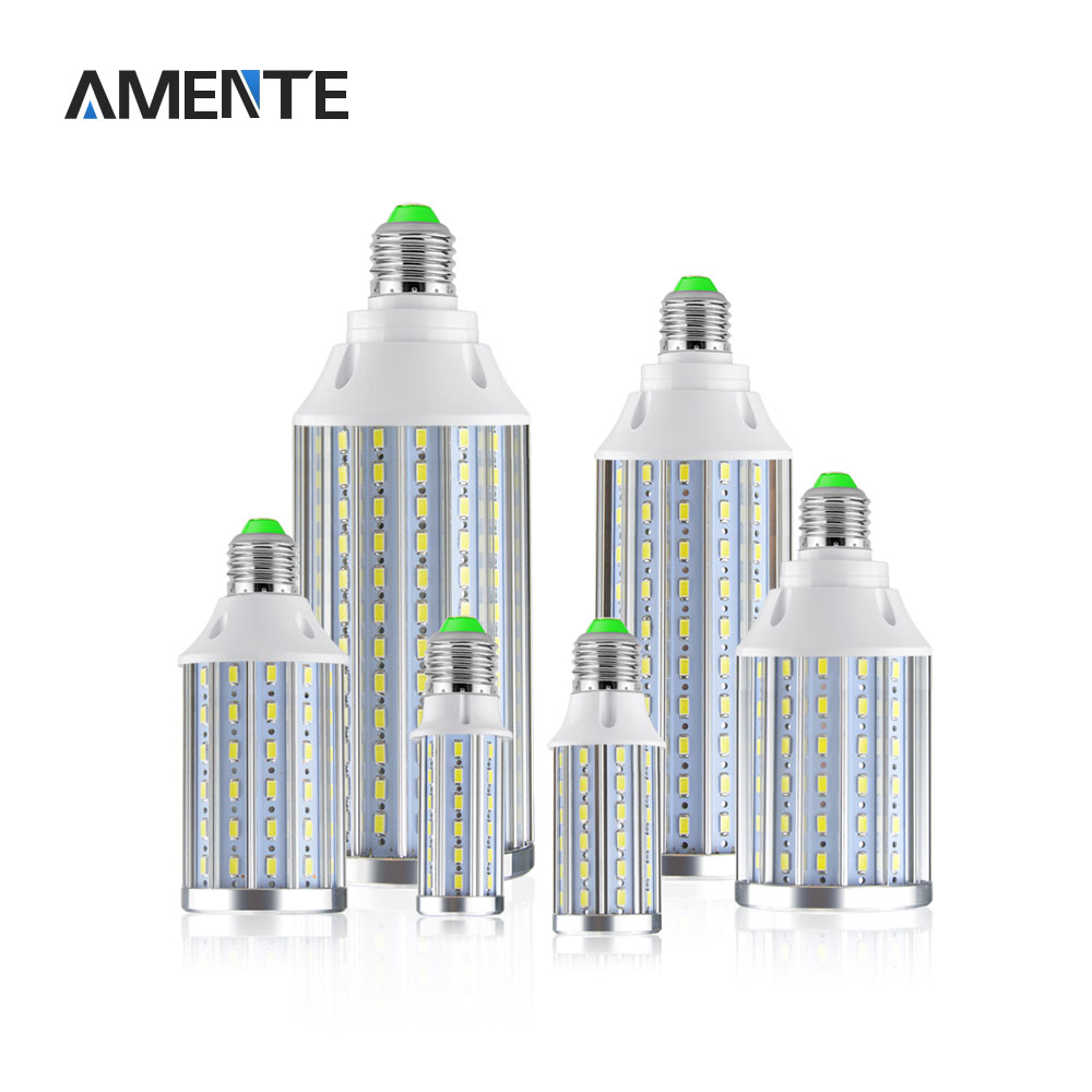 High Power Aluminum PCB Cooling LED lamp E27 AC 85-265V 10W 15W 20W 25W 30W 50W Corn bulb 5730 SMD Replace incandescent Lighting(China (Mainland))
