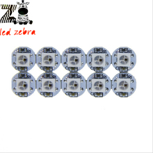 Buy 100pcs ws2812b rgb led chips,black/white pcb with heatsink,ws2811 ic 5050 smd individually addressable digital dc 5v for $11.93 in AliExpress store