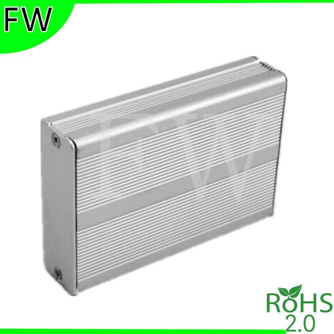 processing aluminum extruded box signal booster car power aluminum box enclosure 24*69*100mm(China (Mainland))