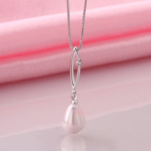 Fashion Water Drop Necklaces Pendants for Women 2015 Vintage Accessories pearl Necklace Bijoux Valentine Gift Ulove N1244(China (Mainland))