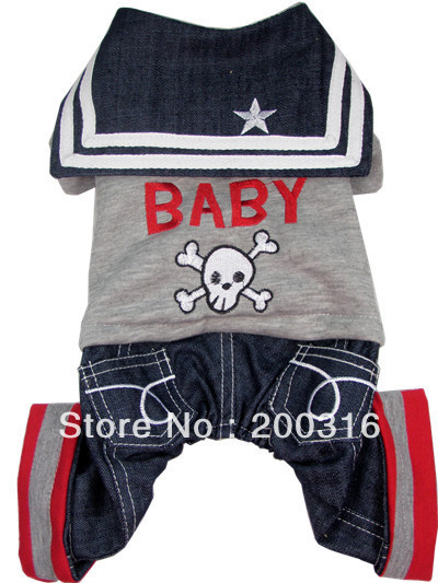 Wholesale New cute Rock Baby clothing for dog Free shipping dogs dress costumes