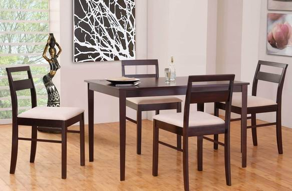 Malaysia imported dining table simple and stylish dining  : Malaysia imported dining table simple and stylish dining table solid wood dining table dinette combination 1 from www.aliexpress.com size 583 x 381 jpeg 47kB