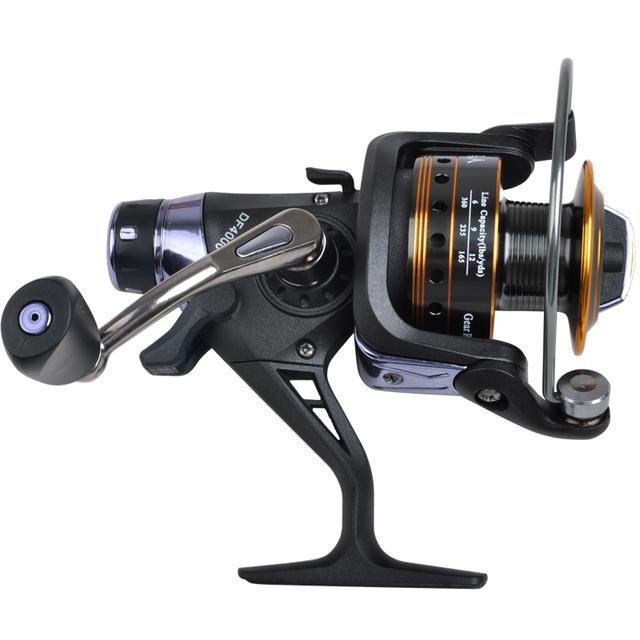 Free Shipping DF-4000 Metal Fishing Spinning Reel 10BB 5.2:1 Fishing Reel Sea Fishing Rod Reel