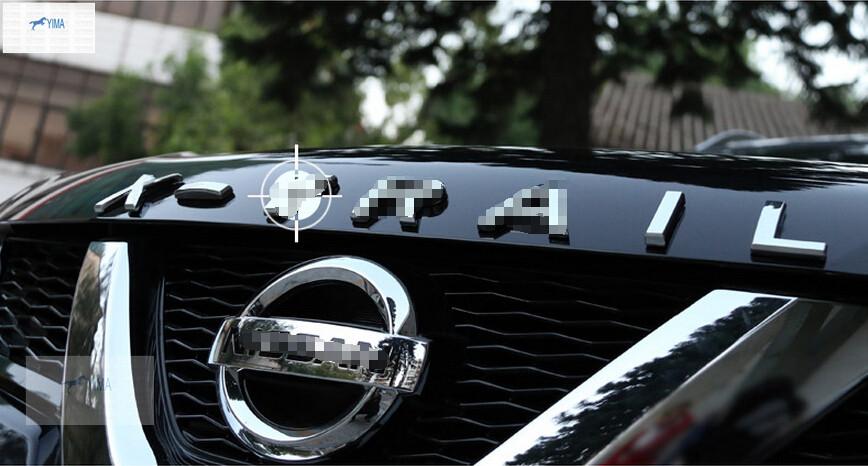 Accessories For Nissan X-Trail T32 2014 2015 / X-Trail 2009- 2013 ABS 3D X-Trail Letters Hood Emblem Trim<br><br>Aliexpress