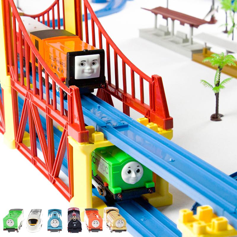 119 pcs thomas electric train set toy trains(China (Mainland))
