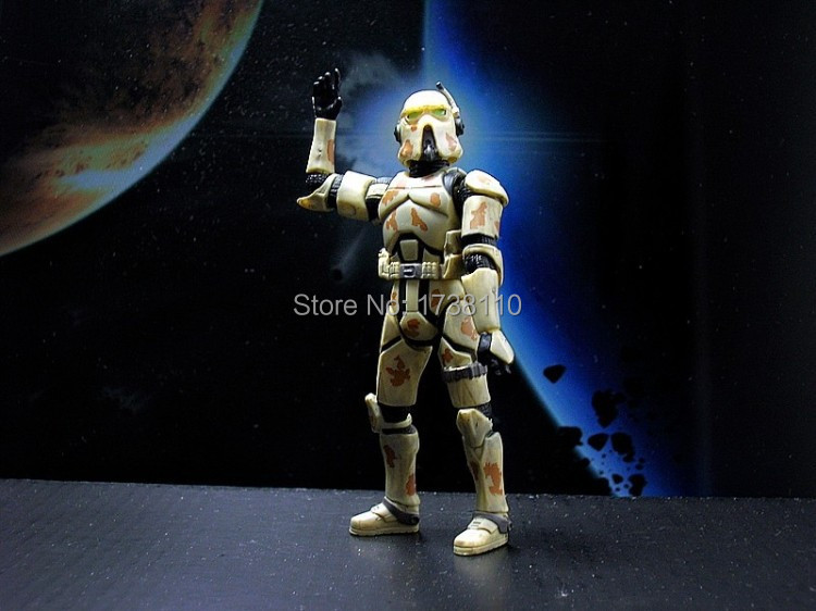 Star Wars - Clone trooper soldiers camouflage Happy small castle store