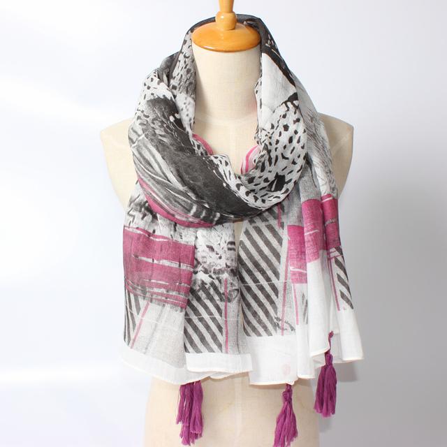 2016 новое поступление зима мода ои пятницу фигуры шаблон девушки распечатать размер 180 см шарф большие шали