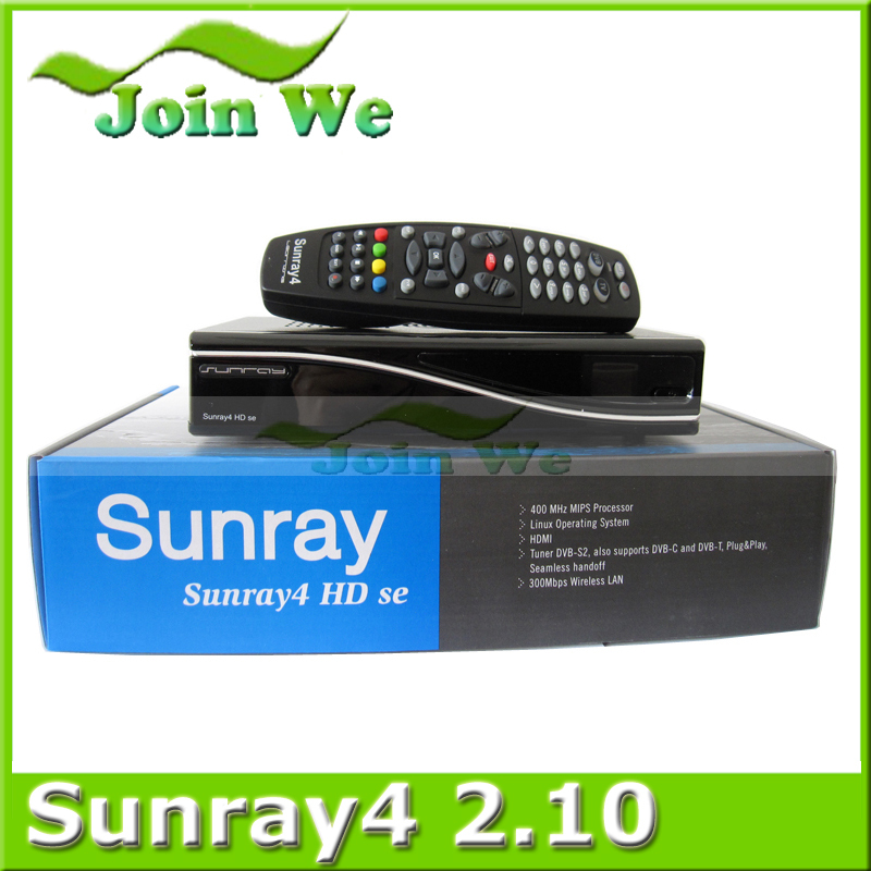 Digital Satellite Receiver Sunray4 2.10 sr4 2.10 Sunray HD SE SR4 800SE Triple tuner Enigma2 DVB S(S2)/C/T2 300Mbps WIFI(China (Mainland))