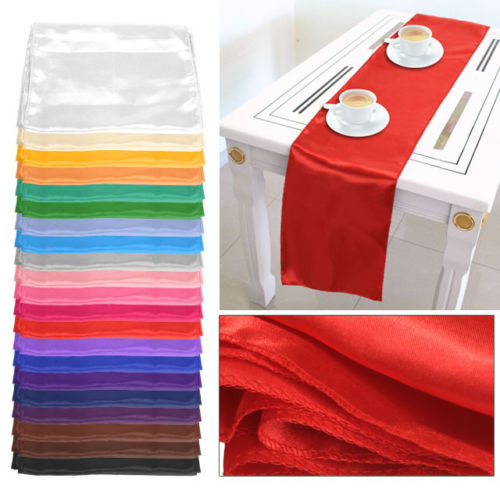 Satin-Table-Runner-275CM-X-30CM-Wedding-Decoration-Supply-Remember-to-advise-COLOR-U-NEED-in