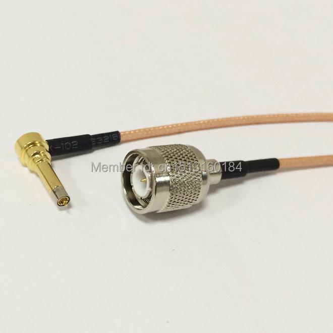 Nuevo módem inalámbrico alambre MS156 sonda de prueba a enchufe macho TNC cable RG316 el 15 cm para LTE Yota una LU150 / Huawei E1550(China (Mainland))