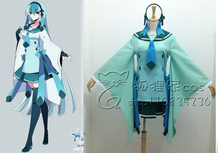 Anime Pokemon Cosplay Ice Wizard Glaceon Costume Women Halloween Costumes Dress for Party Custom Made
