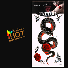 Snake Tattoo/armband,ankle,elbow,body/Snake/waterproof,transfer temporary fake sticker tattooing art