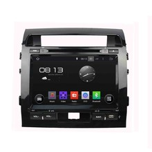 HD 1024*600 Quad Core 1.6G 16GB Android 5.1.1 Car DVD Player Radio GPS Navi Stereo for Toyota LAND CRUISER 2008 2009 2010-2013