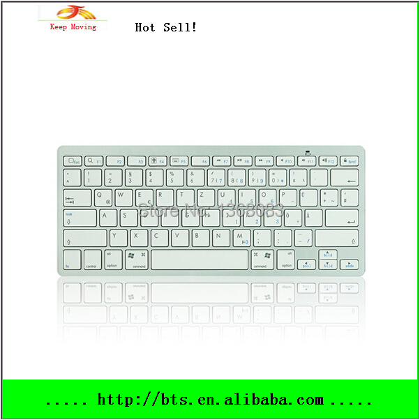 Swiss post Free Shipping Wireless Bluetooth Keyboard for iphone ipad tablet PC and Laptop Desktop(China (Mainland))