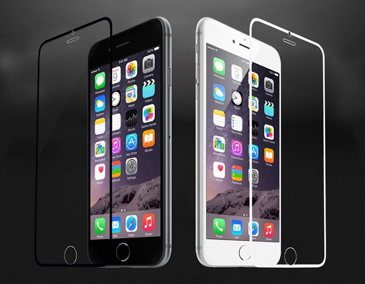 Здесь можно купить  Mix order 100pcs 0.3mm 2.5D 9H Full Coverage Tempered Glass Screen Protector Film For iPhone 6 6S iPhone 6 6s Plus Full Cover  Телефоны и Телекоммуникации