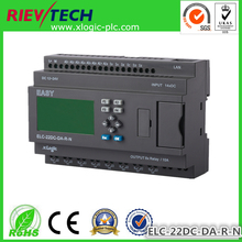 Ethernet PLC,ideal solution for remote control& monitoring &alarming applications ,Built-in Ethernet capability ELC-22DC-DA-R-N(China (Mainland))