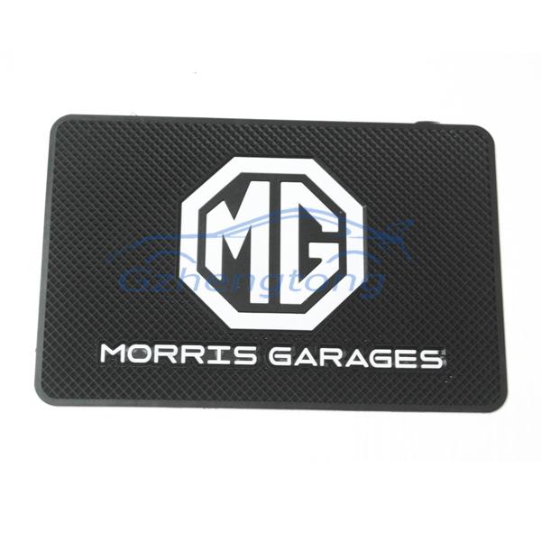 Free shipping MG car anti slip mat in-car slip-resistant pad belt emblem car-styling mat for mobile silicone mat non slip mat(China (Mainland))