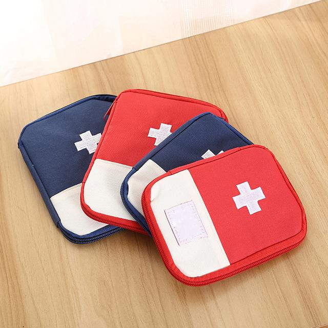 Портативный наружный аптечка первой помощи сумка дома небольшой медицинский коробка ...