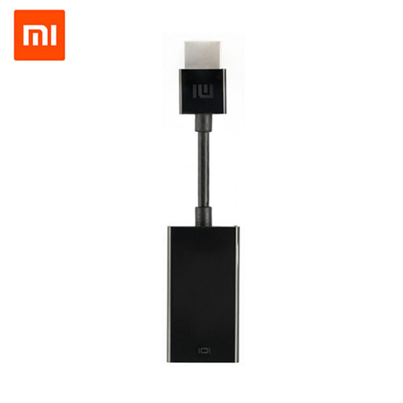 100% Original Xiaomi High Definition 1080p Hdmi to Vga [Only Hdmi to VGA] Converter Cable Adapter NEW for Xiaomi Box 3rd 4k(China (Mainland))