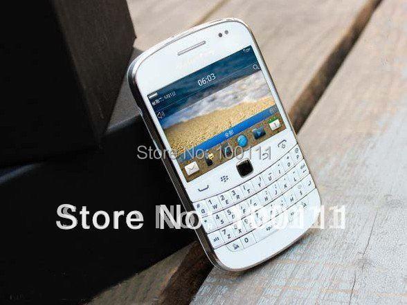 9900 Original white blackberry 9900 unlocked 3g gsm Cell phones unlocked FREE SHIPPING(Hong Kong)