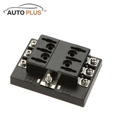 Buy Hot Sale 6 Way Circuit Car Fuse Box Holder 32V DC Waterproof Blade Fuse holder Block Auto Car Boat Car Light Source for $13.64 in AliExpress store