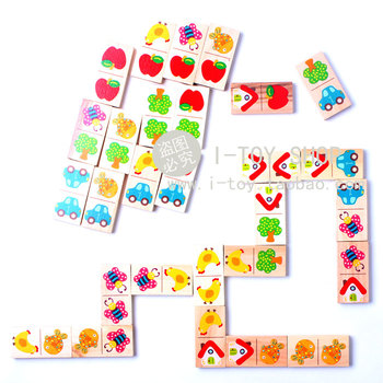 Puzzle beech domino fruit traffic tools daily necessities animal