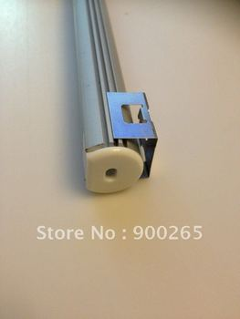 LED CASE LIGHT FIXTURE/RIGID BAR PROFILE , PROFILE+ENDCAP+CLIP,FIT FOR LED STRIP UNDER 12MM, DHL/FEDEX FREE SHIPPING