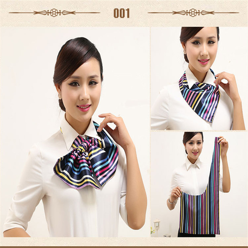 Hot wear Variety Magic scarves Bank scarf stewardess small units of work uniforms female girl send a gift(China (Mainland))