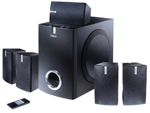 Free shipping Computer Multimedia Subwoofer Speaker 5.1 Lcd Sound Channel Beautiful sound combination(China (Mainland))