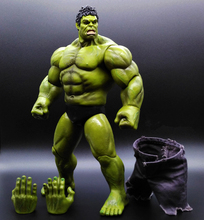 1pcs HULK Avengers2 II Captain America 3 Action Figures Super Hero Marvel PVC 26cm Model Gifts OPP BAG Anime Immovable