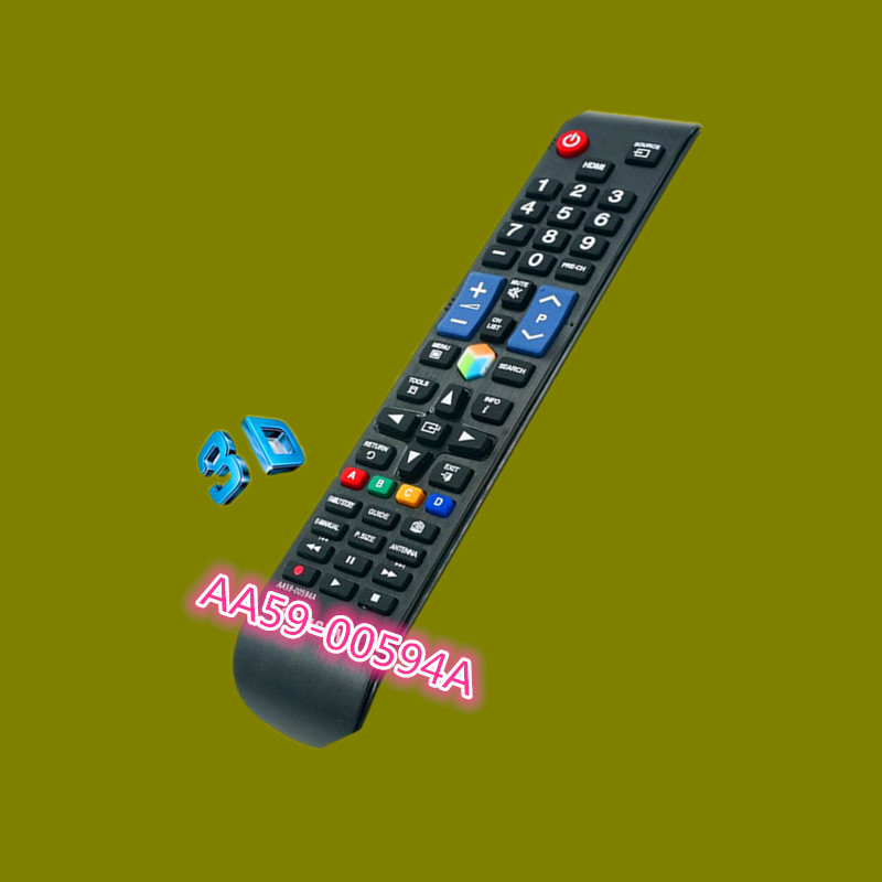 For Samsung LED 3D TV remote control AA59-00594A General AA59-00642A(China (Mainland))