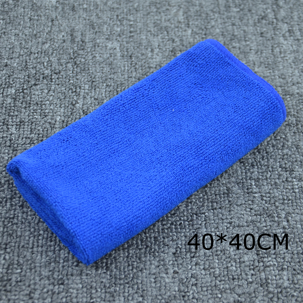 Auto Microfiber Towel Super Water Car Wash Drying Soft Dry Cleaning Absorbant Cloth Random Color Car Cleaning(China (Mainland))