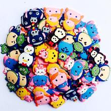 Lot 10Tsum tsum Minnie Mickey Lilo Stitch Shoe Charms Accessories Decoration fit Wristbands Bracelets Kids Gifts - XIAOYE Factory's Branch Store store