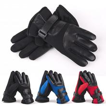 2015 New Fashion Mens Gloves Leather Gloves Winter Models Plus Thick Velvet Warm Cotton Gloves Mittens Winter Gloves Anne(China (Mainland))