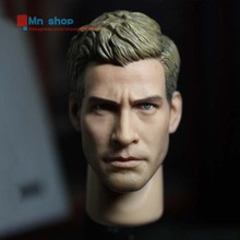 1/6 Scale Male Star Jake Gyllenhaal Head Sculpt Head Carving Model Fit 12″ Action Figure Body Doll Toys Accessories P20